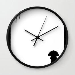 Drips Wall Clock