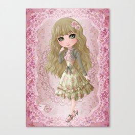 Classic Lolita Canvas Print