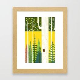 Joyful Trees Framed Art Print