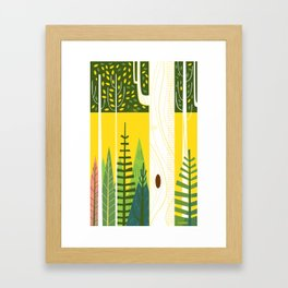 Joyful Trees Framed Art Print