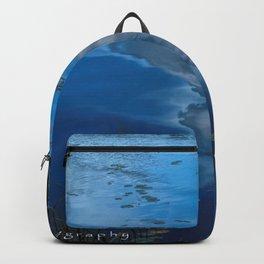 cloud reflections over lake eskiln Backpack