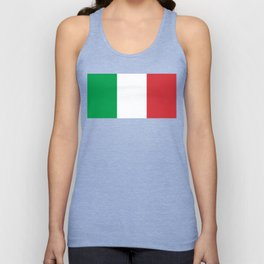 National Flag of Italy Unisex Tank Top