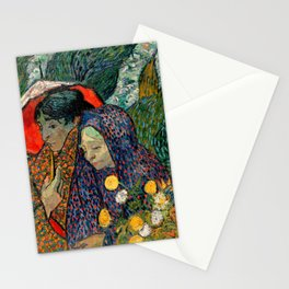 Memory of the Garden at Etten by Vincent van Gogh Stationery Cards