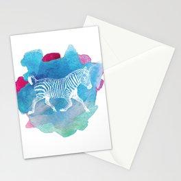 Color Spot Safari Zebra Stationery Cards