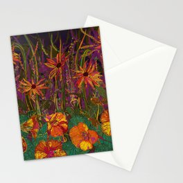 You Can Get By (Autumn Flowers) Stationery Cards