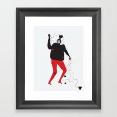 lovetangles Framed Art Print