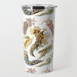 Ernst Haeckel - Nudibranchia (Snails) Travel Mug
