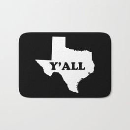 Texas Yall Bath Mat