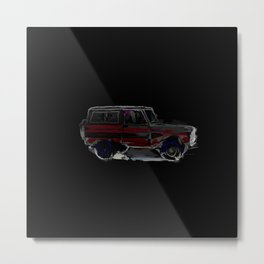 Night Bronco Metal Print