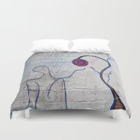 soul eater Duvet Covers featuring soul by Loosso