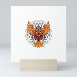 Owl Seeing Eye Mini Art Print