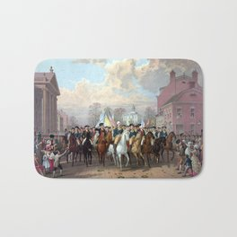General Washington Enters New York Bath Mat