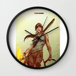 Tomb Raider Wall Clock