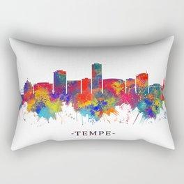 Tempe Arizona Skyline Rectangular Pillow