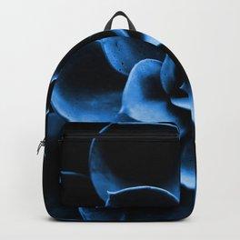 Dark Blue Succulent Plant #decor #society6 #homedecor Backpack