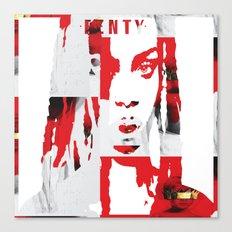 F.A.N.T.I WHITE Canvas Print