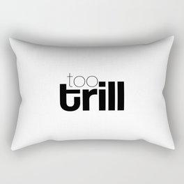 trill Rectangular Pillow