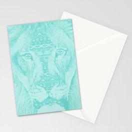 blue lion Stationery Cards