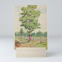 Vintage Print - Familiar Trees and Leaves (1911) - Sassafras Mini Art Print