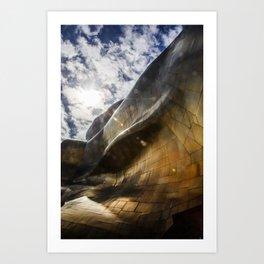 Architectural Geometry / 3 Art Print