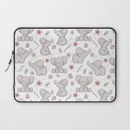 Cute elephants Laptop Sleeve