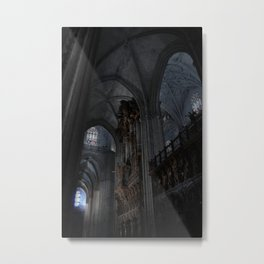 Gothic Light Metal Print