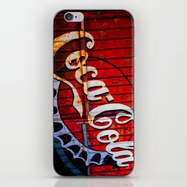 Rusty Coke Ad iPhone Skin