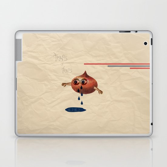Tears of Fears. Laptop & iPad Skin