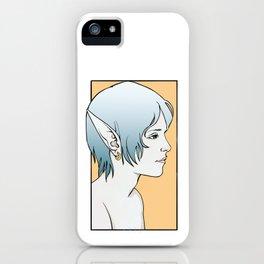 Fayez, Elven Rogue iPhone Case