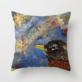 Robin #288 Throw Pillow