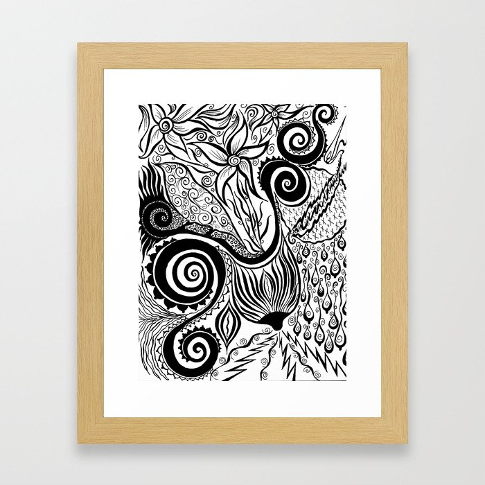 Boob Warrior I Framed Art Print
