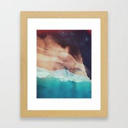 Giant leap Framed Art Print