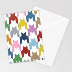 M Dog Tooth Stationery Cards