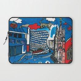 A depiction of Birmingham, UK Laptop Sleeve