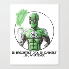 Greenpool Canvas Print