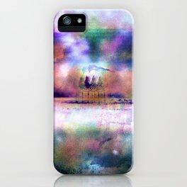 mare plumas iPhone Case
