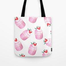 Strawberry Cupcakes Tote Bag