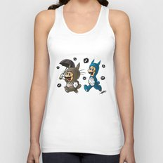 Super Totoro Bros. Unisex Tank Top