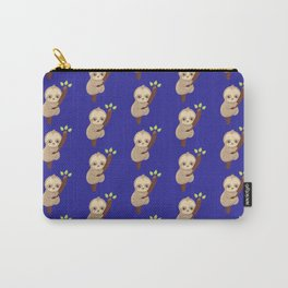 Hold On Little Sloth Carry-All Pouch