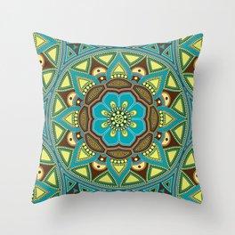 Mandala my new creation IV Throw Pillow
