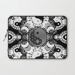 YinYang Sacred Geometry Totem Laptop Sleeve