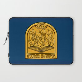 Fire Department 451 Laptop Sleeve
