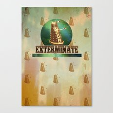Doctor Who: Dalek Print Canvas Print