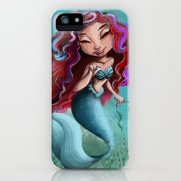 Under The Sea: Mermaid Life iPhone Case
