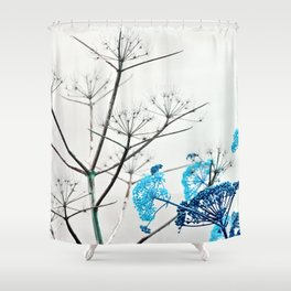 WILDFLOWERS of Sicily Shower Curtain