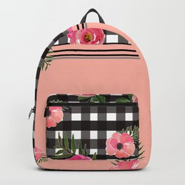 Gingham+Floral II Backpack