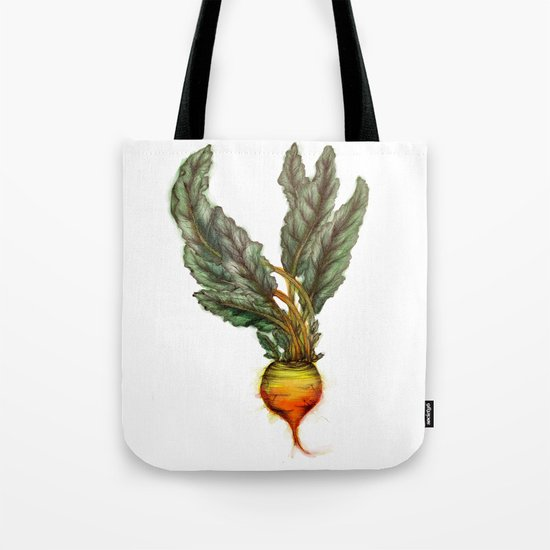 Rooted: The Golden Beet Tote Bag