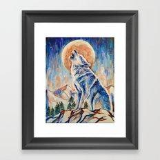 Wolf Lobo Framed Art Print