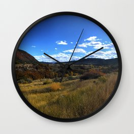 Off the Beaten Path - Glenwood Canyon, CO Wall Clock