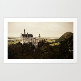 neuschwanstein Art Print